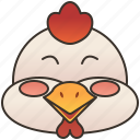 chicken, eggs, hen, livestock, poultry icon