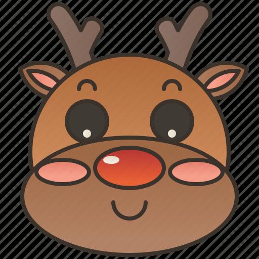antler, deer, elk, reindeer, stag icon