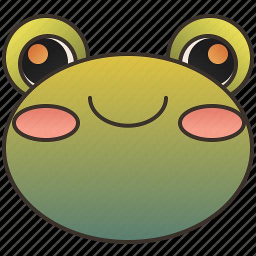 amphibian, animal, frog, tadpole, toad icon
