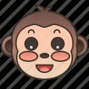 animal, mammal, monkey, primate, wildlife icon