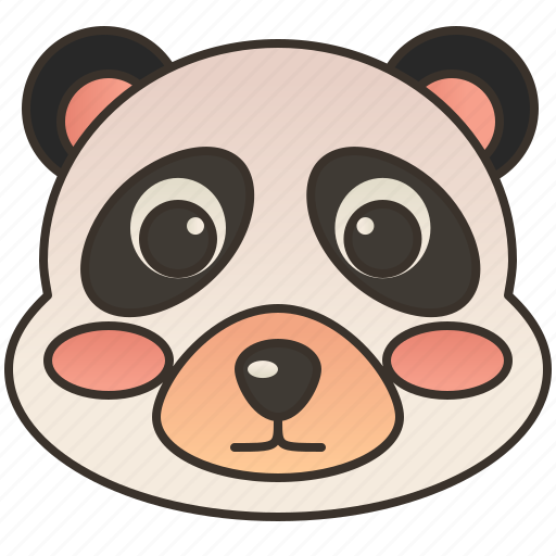 animal, bear, china, cute, panda icon