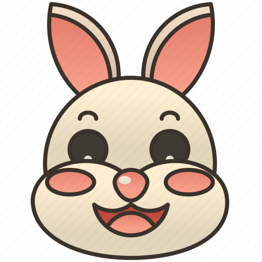 bunny, easter, furry, pet, rabbit icon