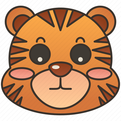 bengal, carnivore, predator, tiger, wildlife icon