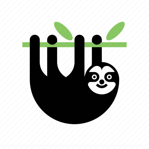 Animal, nature, sloth, wild, zoo icon - Download on Iconfinder