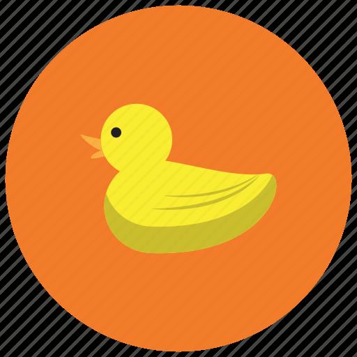animals, bathtub, duck, lake, park, river, swim icon