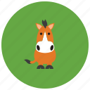animals, hoofs, horse, pony, ride, tail icon