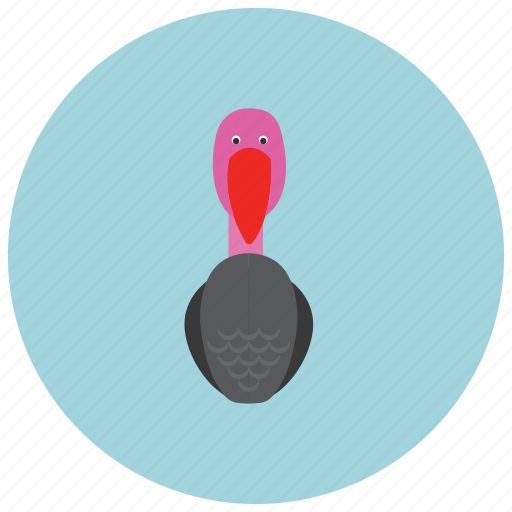 animals, bird, cute, fly, thanksgiving, turkey icon