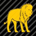 lion, africa, animal, cat, mammal, wildlife