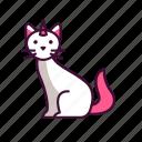 animals, caticorn, magical, unicorn cat icon