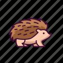 animals, hedgehog, wildlife, zoo icon