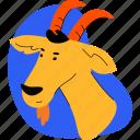goat, animal, farm, livestock