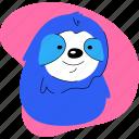 sloth, animal, zoo, cute