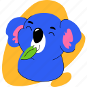 koala, wild, animal, zoo