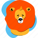 lion, wild, animal, zoo