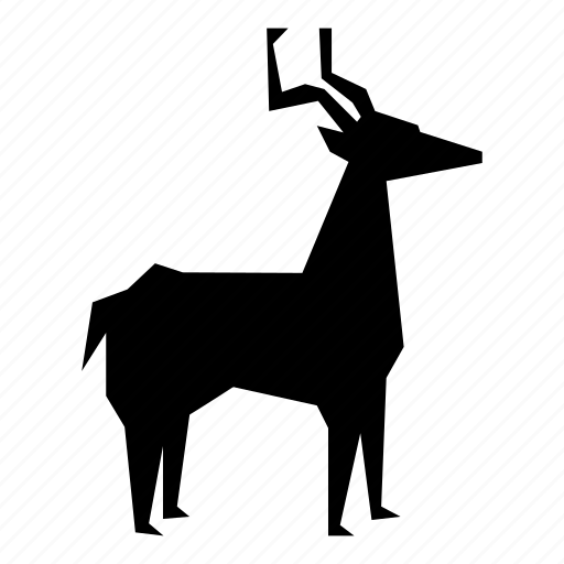 christmas, deer, reindeer icon
