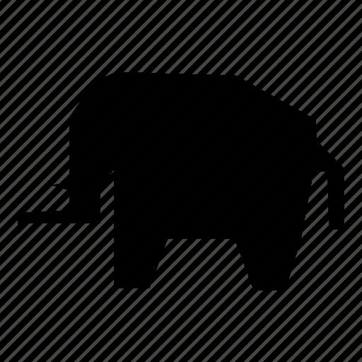 africa, elephant, wild icon
