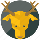 animal, animals, deer, forest, nature, reindeer icon