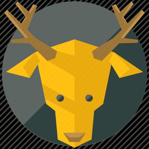 animal, animals, deer, forest, nature, reindeer icon