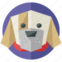 agriculture, animal, animals, dog, farm, nature, pet icon
