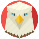 animal, animals, bird, eagle, nature icon