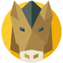 agriculture, animal, animals, farm, horse, nature icon