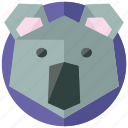 animal, animals, asian, jungle, koala, nature icon