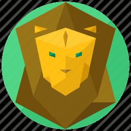 animal, animals, jungle, king, lion, nature icon