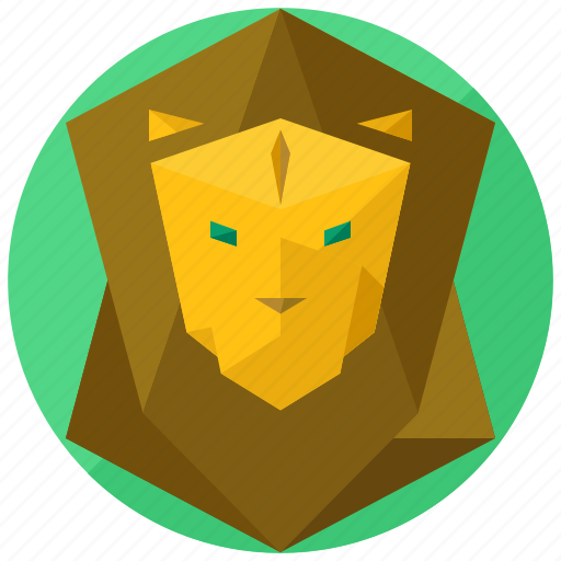 animal, animals, jungle, king, lion, nature icon
