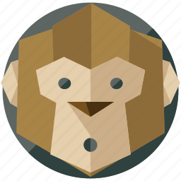 animal, animals, forest, jungle, monkey, nature icon