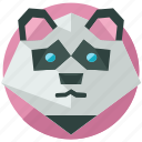 animal, animals, bear, forest, jungle, nature, panda icon
