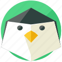 animal, animals, nature, penguin, winter icon