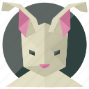 animal, animals, nature, pet, rabbit icon