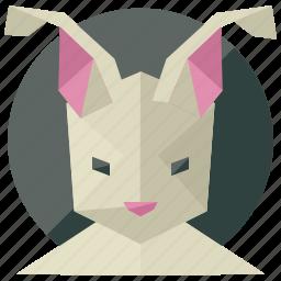 animal, animals, nature, pet, rabbit icon