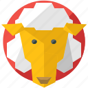 agriculture, animal, farm, nature, sheep icon