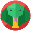 animal, cobra, nature, pet, reptile, snake icon