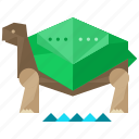 animal, animals, nature, pet, slow, turtle icon