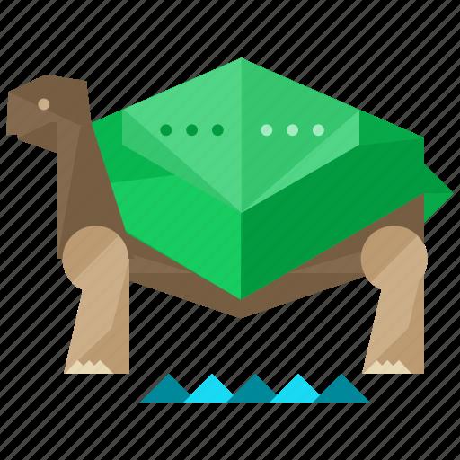 Animal, animals, nature, pet, slow, turtle icon