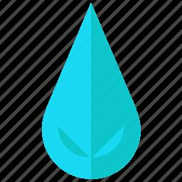 drink, drop, ocean, sea, water icon