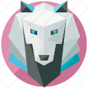 animal, animals, forest, nature, pack, wolf icon