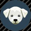 animal, dog, face, puppy icon