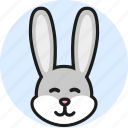 animal, cute, logo, media, rabbit, wild, zoo icon