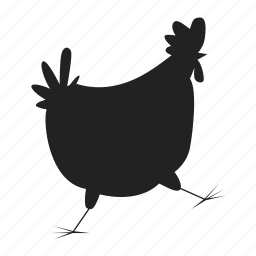 bird, chick, cock icon