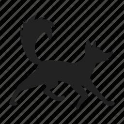 fox, zoo icon