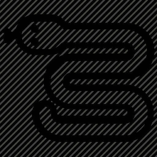 animal, reptile, snake icon