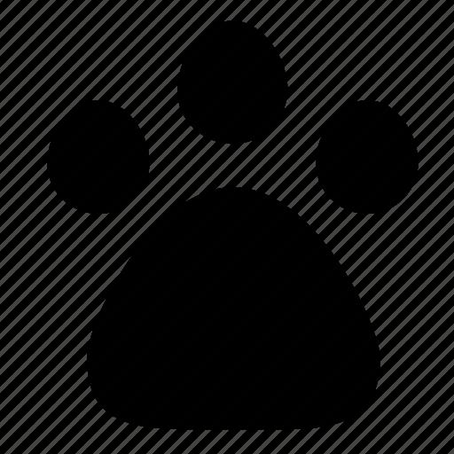 animal, paw, print icon
