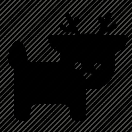 Animal, deer, reindeer icon - Download on Iconfinder