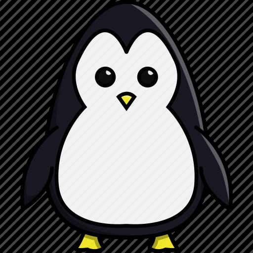 animal, aquarium, bird, cute, nature, penguin, sea icon