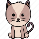 animal, cat, cute, domestic, nature icon