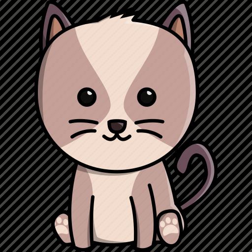 animal, cat, cute, domestic, nature icon