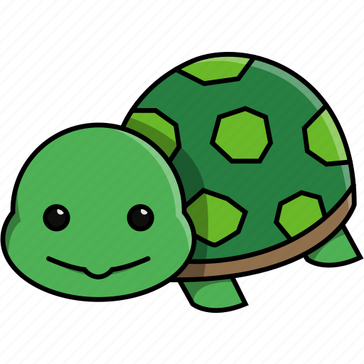 animal, aquarium, cute, domestic, nature, sea, turtle icon